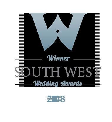 Winner South West Wedding Awards 2018